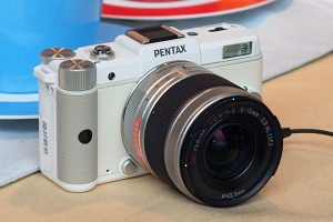 Mirrorless Pentax Camera