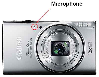 Detecting front-facing mic vlog camera