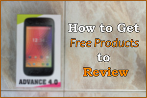 Get fre products to review on youtube