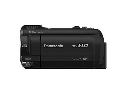 Why the Panasonic HC-V770 is good for youtube vlogging