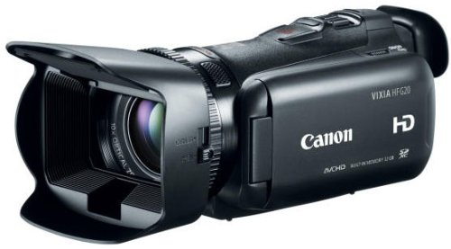 Why the Canon VIXIA HF G20 is good for youtube vlogging