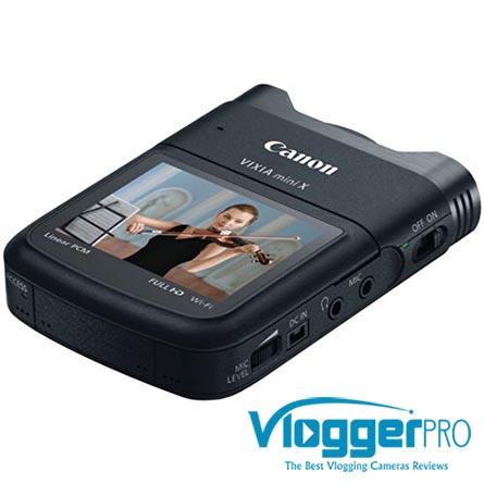 is the Canon VIXIA mini X Good for YouTube Vlogging?