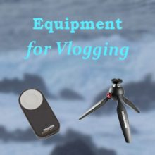 best YouTube equipment for vlogging article