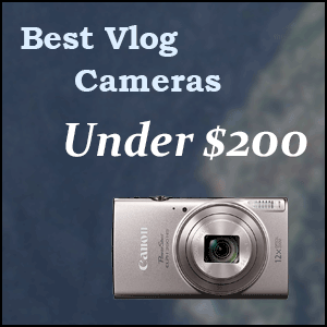 Best YouTube vlogging cameras under 200