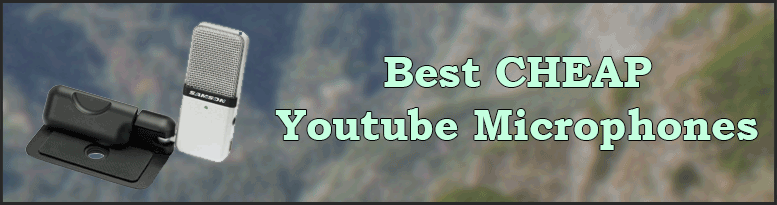 Top 5 best cheap microphones for youtube article title