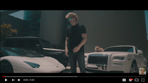 Logan paul expensive cars