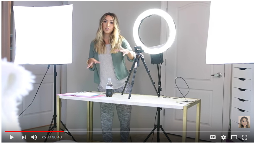 LIGHTING STUDIO for youtube