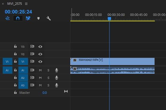 editing a vlog