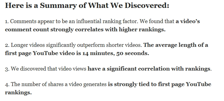 actionable tips on ranking higher on youtube