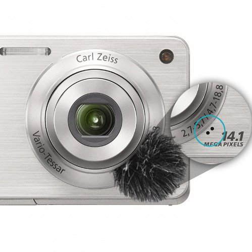 windscreen for compact vlogging cameras