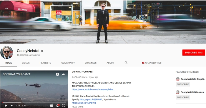 casey neistat channel theme
