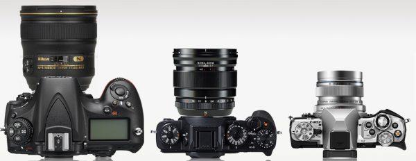 vlogging camera size comparison