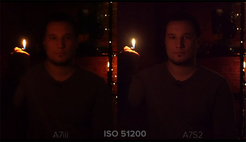 Best Low Light Video Camera comparison between sony a7 iii and a7s 2