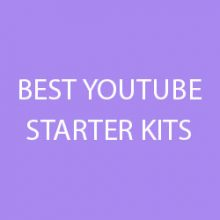 best youtube starter kits