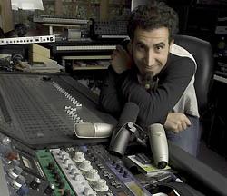 Musician Serj Tankian using the shure sm7b for his recordings