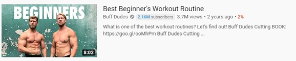 best beginers workout routine youtube