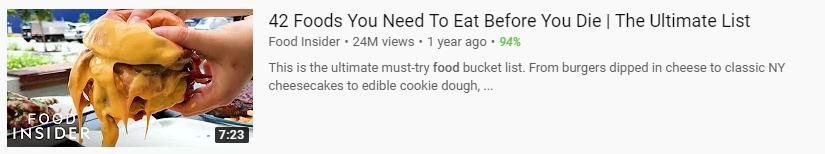 delicious food youtube thumbnail