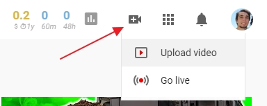 how to upload a youtube video