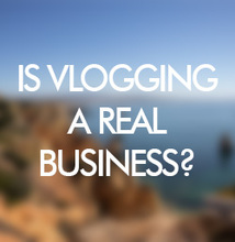 is vlogging a business